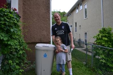Ben Tucker and his kid